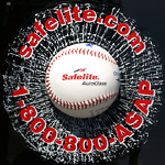 3-D sports marketing window clings for baseball
